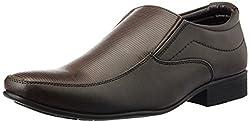 Bata Mens Class Brown Formal Shoes - 8 UK (8514142)