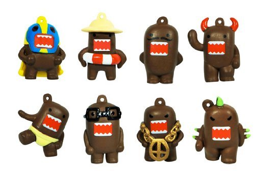Domo Charm Figures - Set of 8 (Domo Party Supplies compare prices)