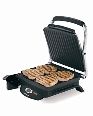 Hamilton Beach 25331 Super Sear 100-Square-Inch Nonstick Indoor Searing Grill by Hamilton Beach