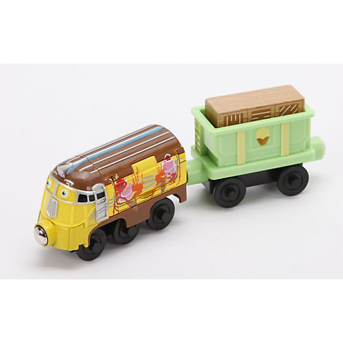 Chuggington Wooden Railway Fruity Frostini With Musical Ice Cream Car back-1002407