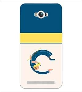PrintDhaba GRANDbet C D-4704 Back Case Cover for ASUS ZENFONE MAX ZC550KL (Multi-Coloured)