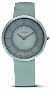 Hanowa Women's 16-6018.04.009 Swiss Lady Extra Slim Grey Leather Watch