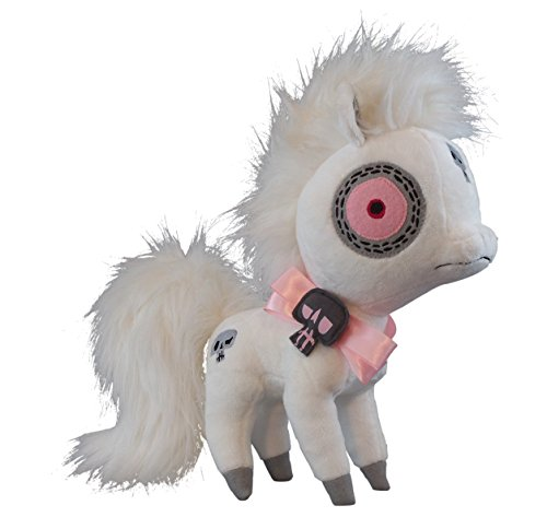 "Vamplets - Ghost Pony - 13"" tall Designer Toy Plush Doll - Great Gift For Monster High Fans - Ride this Mysterious Pony into Fantastic New Worlds - Lives in the Nightmare Nursery of Gloomvania - By My Little Pony designer G-Ra"