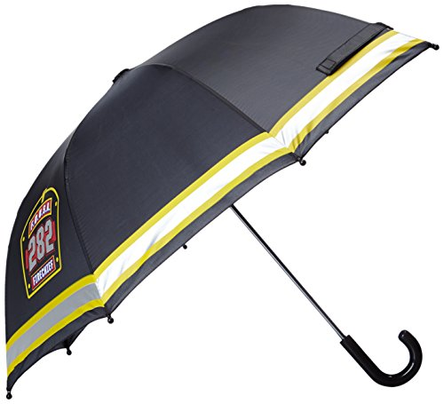 Western Chief Little Boys' F.D.U.S.A. Firechief Umbrella, Black, One Size front-891407