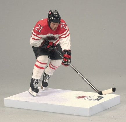 McFarlane Toys NHL Sports Picks Team Canada 2010 Series 2 Action Figure Eric Staal (Carolina Hurricanes) White Jersey