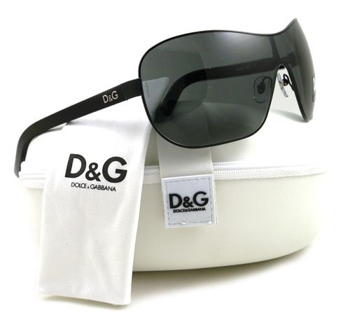 D&amp;g Dolce&amp;gabbana Sunglasses Dd 6053 Black 064/87 Picture
