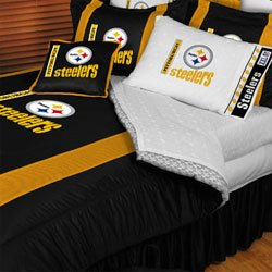 Nfl Pittsburgh Steelers - 5Pc Bedding Set - Twin/Single Size