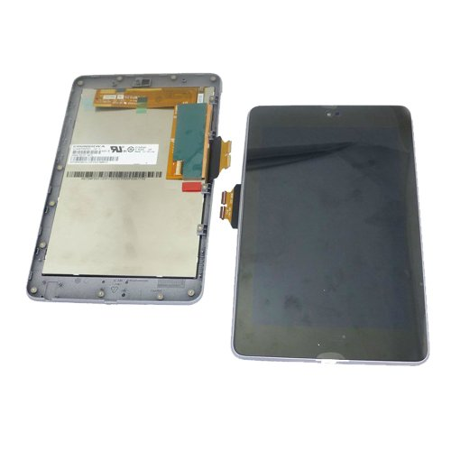 Original Full Lcd Screen With Touch Digitizer Assembly For Asus Google Nexus 7 1St Generation 2012 3G&Wifi With Frame (Wifi With Frame 1St Gen 2012) front-410221