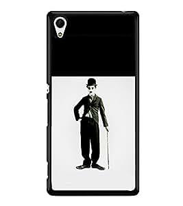 printtech Charlie Chaplin Back Case Cover for Sony Xperia Z3 Plus , Sony Xperia Z3+