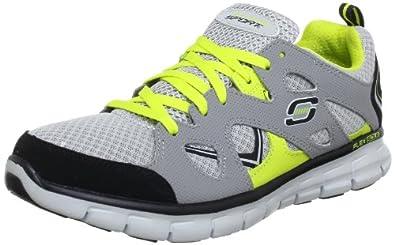 Skechers SynergyGridiron 51197 GYBK, Herren Sneaker, Grau (GYBK), EU 45