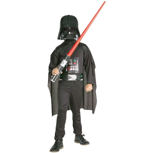 Boxed Set Small Action Wear Child Darth Vader Costume