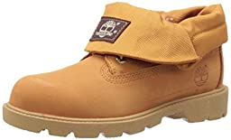 Timberland Roll-Top Single Shot Boot with Closure (Toddler/Little Kid/Big Kid), Wheat Nubuck, 4 M US Toddler