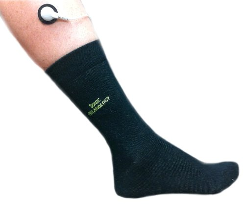 High Silver Content Conductive Sock Kit Embroidered with Sonic Logo for Quality Assurance of Sonic Brand Conductive Fabric