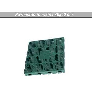 Pavimento in resina galleggiante per esterno cm 40x40 pz 6 - Pavimento resina esterno ...