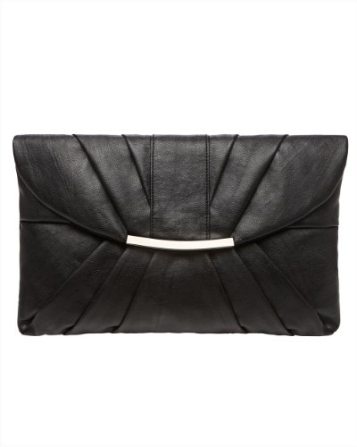 Oversize Clutch Handbag with Softly Pleated Front