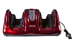 Robotouch Relievo Foot Massager-All In One Kneading, Shiatsu Rolling Foot Massager With 3-D Air Pressure Massage