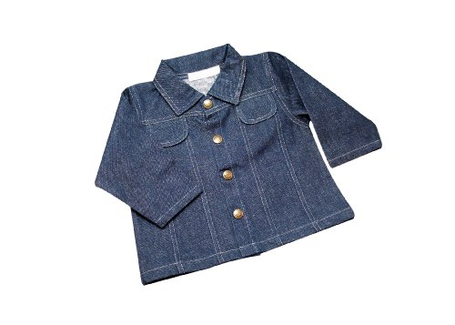 Under The Nile Jacket, Denim, 12 Months front-915521