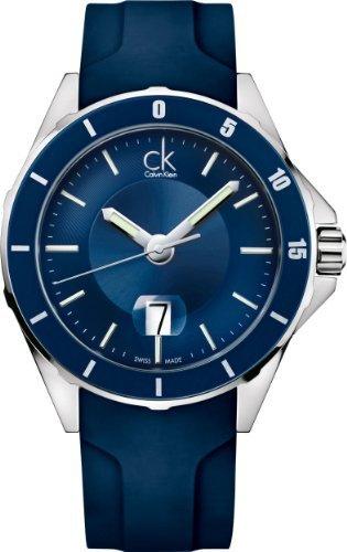 Calvin Klein Play Quartz Blue Dial Men's Watch - K2W21TZX