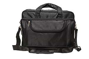 Leather Junction Leather Junction Black Laptop Bag