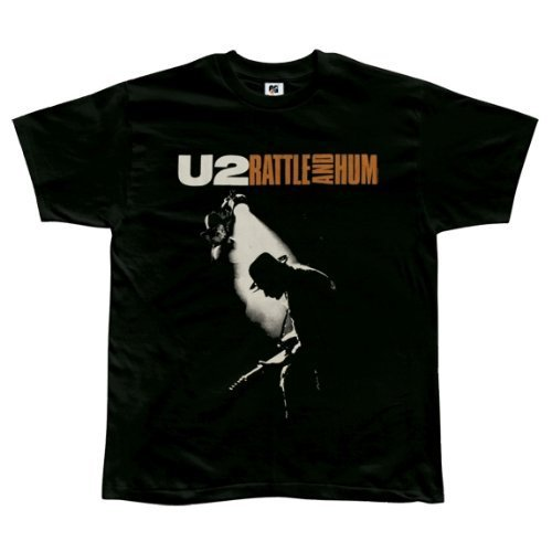 U2 Rattle And Hum black lightweight t-shirt (Large)