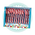 Red & White Candy Canes Box of 12 x 4...