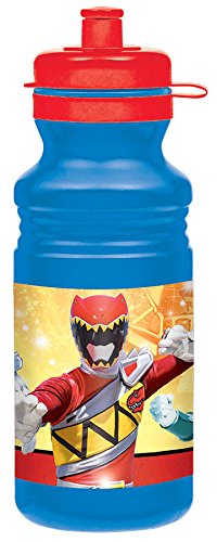 Power Rangers Dino Charge Drink Bottle-2Pack (Dino Spoon compare prices)