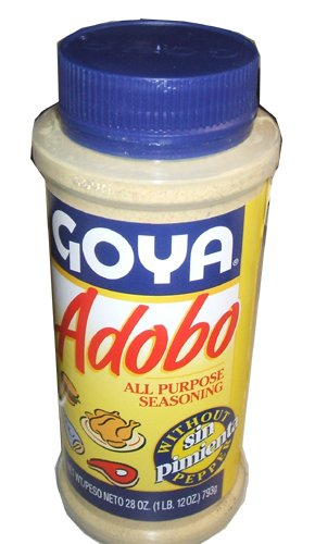 goya adobo all purpose seasoning without pepper sin