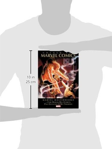 Mmw Golden Age Marvel Comics 01 (Marvel Masterworks)