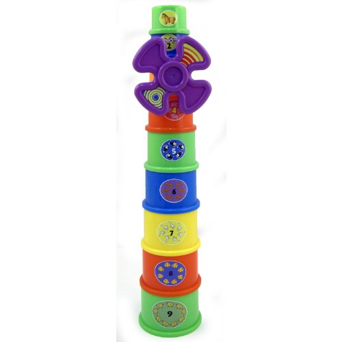 Educational Windmill Stacking Cups Nest & Stack Toy