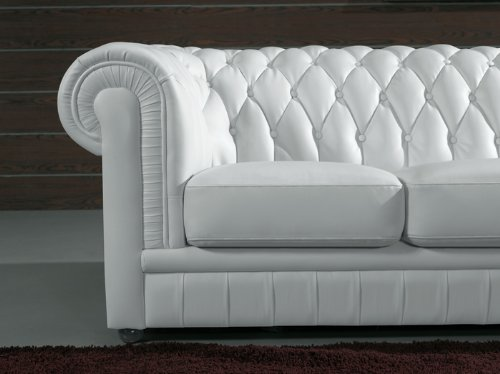 ledersofa leder sofa wohnlandschaft chesterfield 3 2 1 weiss couch sessel 3er 2er hempels sofa. Black Bedroom Furniture Sets. Home Design Ideas