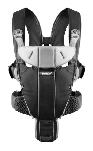 Babybjorn Miracle Baby Carrier (Black/Silver)