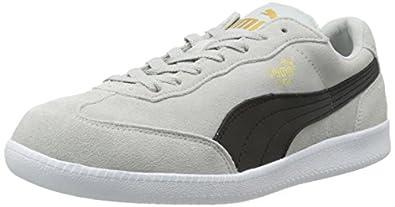 PUMA Liga Suede Classic Sneaker, Gray Violet/Black, 4 M US