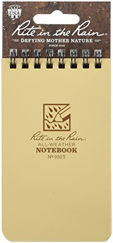 Rite In The Rain All Weather Tactical Pocket Notebooks, 3