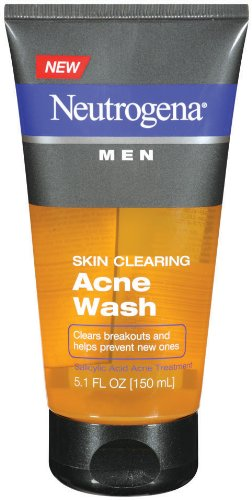 Peau Clearing acné Wash Neutrogena hommes, 5,1