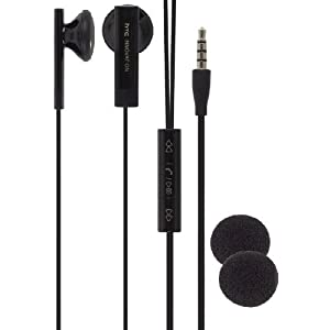 HTC (OEM) 3.5mm Stereo Headset - Black