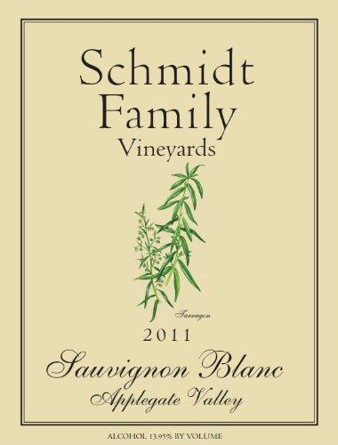 2011 Schmidt Family Vineyards Sauvignon Blanc 750 Ml