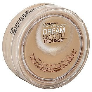 Maybelline New York Dream Smooth Mousse Foundation, Nude Beige, 0.49 Ounce, 2 Ea front-367100