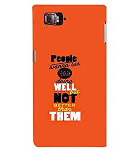 TOUCHNER (TN) People Wanna See Back Case Cover for Lenovo Vibe Z2 Pro K920