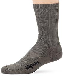 Wigwam Mens Hot Weather Bdu Pro Sock, Foliage Green, Large