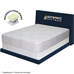 "Amazon Best Price Mattress 12"" Memory Foam Mattress"