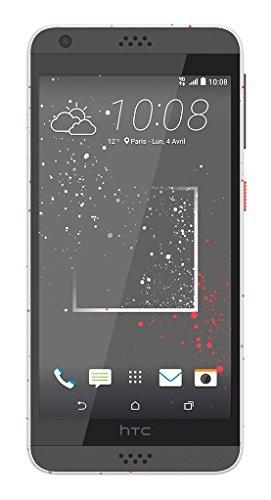 HTC-Desire-530-Remix-Smartphone-dbloqu-4G-Ecran-5-pouces-16-Go-Simple-Nano-SIM-Android-Blanc