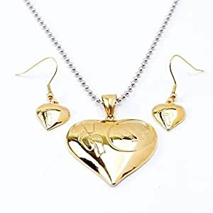 Punk titanium steel feet necklaces earrings for Selling jewelry on amazon