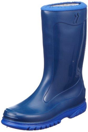 RomikaJupiter - Stivaletti in gomma a gamba media, imbottitura pesante Unisex - Bambini , Blu (Blau (blau-pacific 561)), 28