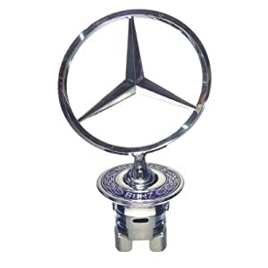Mercedes benz bonnet badge star w210 car for Mercedes benz bonnet badge