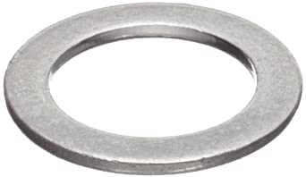 Stainless Steel 18-8 Shoulder-Shortening Shim Flat Washer, Inch, Made In US