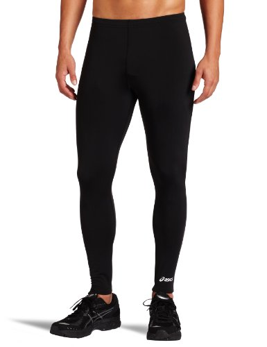 ASICS Men's Team Medley Tight, Black, Medium