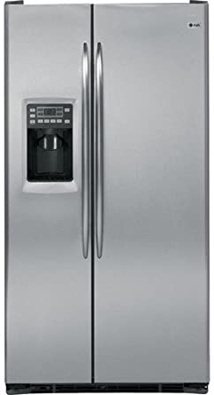 GE PSCS5RGXSS Profile 24.6 Cu. Ft. Stainless Steel Counter Depth Side-By-Side Refrigerator