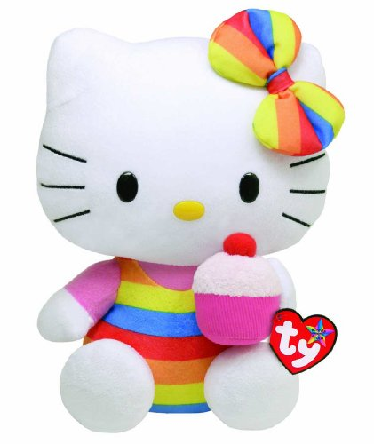 Imagen de Ty Beanie Neighbor HELLO KITTY - Cupcake (Media)