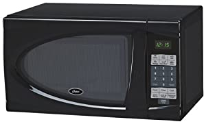 Oster AM730B 0.7-Cubic Feet Countertop Microwave Oven, 700-Watt, Black by DPI