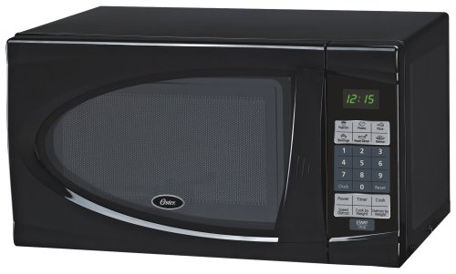Oster AM730B 0.7-Cubic Feet Countertop Microwave Oven, 700-Watt, Black